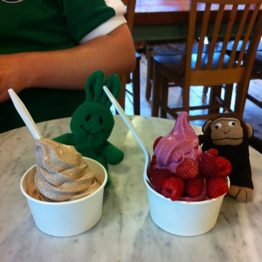 Photo taken at Culture: An American Yogurt Company by greenie m. on 7/7/2012