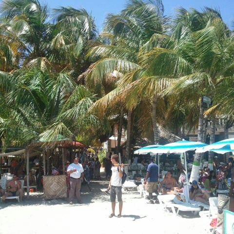 Photo taken at Playa El Yaque by Edison D. on 9/9/2012