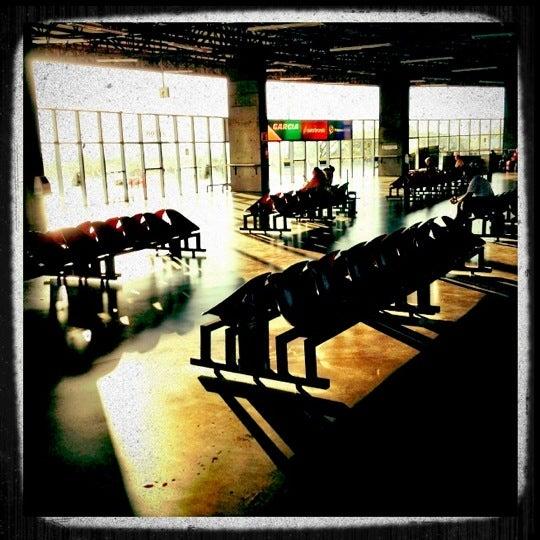 Photo taken at Terminal Rodoviário José Garcia Villar by Natália G. on 8/25/2012