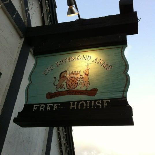 Photo taken at The Richmond Arms Pub by Bob C. on 5/25/2012