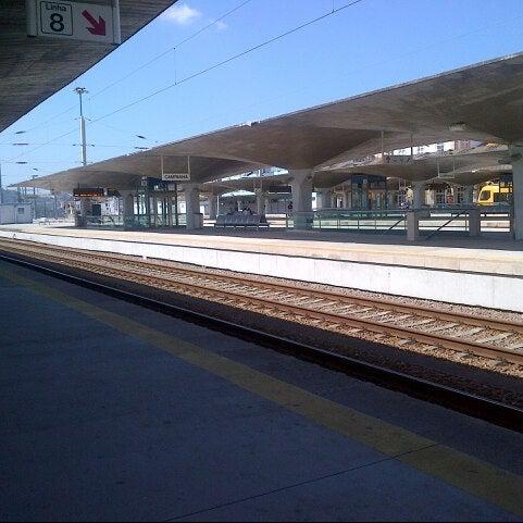 Photo taken at Estação Ferroviária de Porto-Campanhã by Giani B. on 8/6/2012