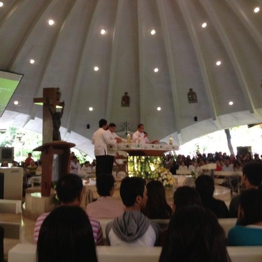 Photo taken at Sto. Niño de Paz Community Chapel by Francis O. on 6/3/2012