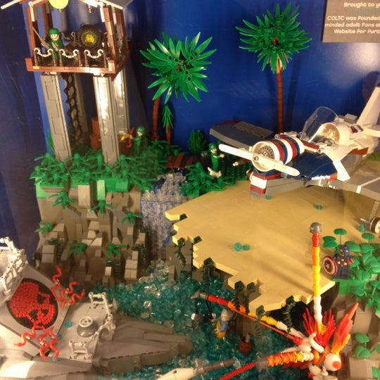 Photo taken at The LEGO Store by Don C. on 8/14/2012