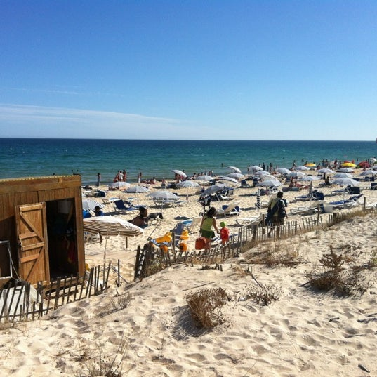 Photo taken at Praia do Barril by Rafael C. on 8/30/2012