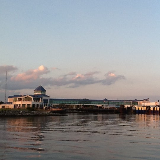 Photo taken at Cape May-Lewes Ferry | Cape May Terminal by Justin C. on 8/18/2012