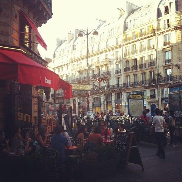 Photo taken at Métro Étienne Marcel [4] by Matt V. on 9/8/2012