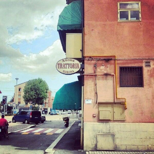 รูปภาพถ่ายที่ Antica Trattoria della Gigina โดย Stiven M. เมื่อ 8/10/2012