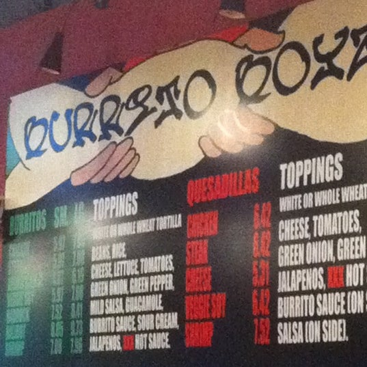 Photo taken at Burrito Boyz by Kundan J. on 2/26/2012
