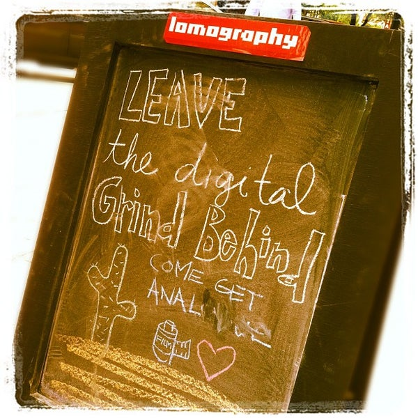 Photo taken at Lomography Gallery Store Austin by Stephen T. on 3/27/2012