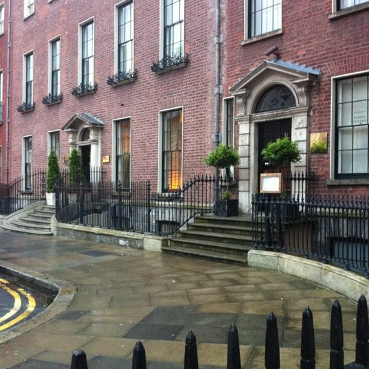 Photo taken at Merrion Hotel by Andrea S. on 7/8/2012