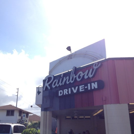 Photo taken at Rainbow Drive-in by Mami on 5/8/2012