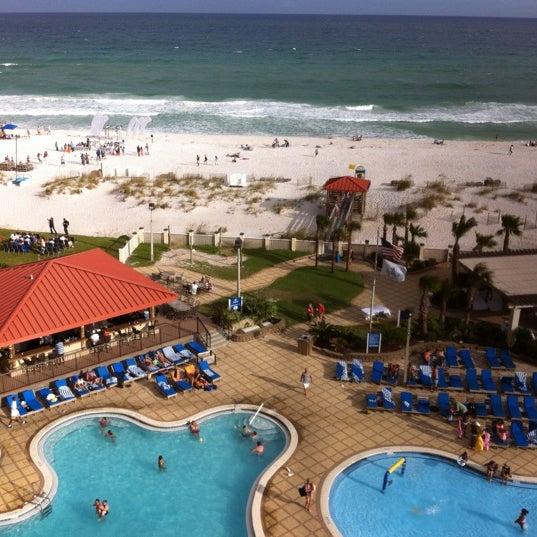 Photo taken at Hilton Pensacola Beach by Heath on 6/23/2012