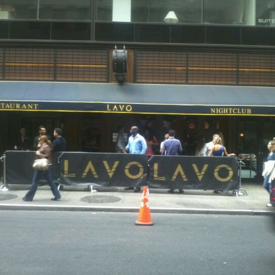Photo taken at Lavo by Andre S. on 4/14/2012