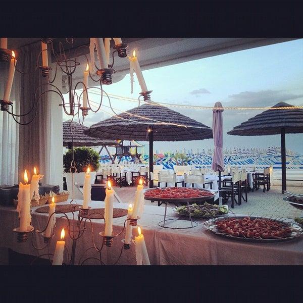 6/9/2012 tarihinde Federica P.ziyaretçi tarafından Bagno Adriatico 62'de çekilen fotoğraf
