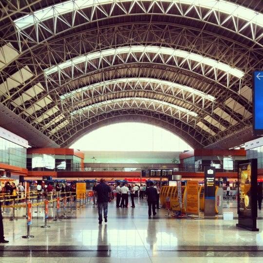 Photo taken at Istanbul Sabiha Gökçen International Airport (SAW) by umitko on 6/8/2012