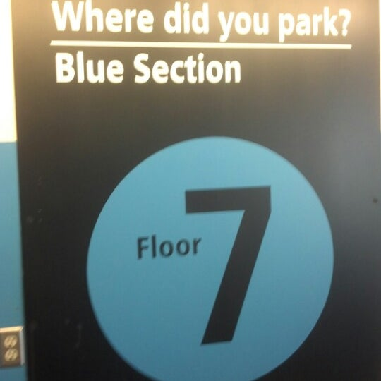 Photo taken at Sea-Tac Airport Parking Garage by Tom D. on 8/13/2012