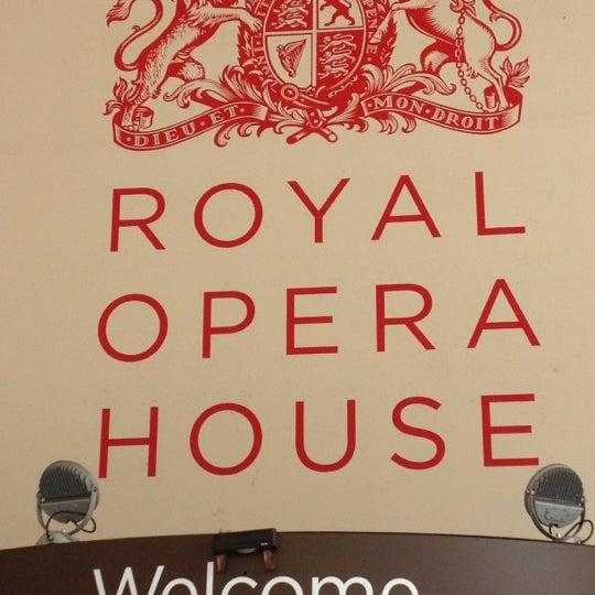 Photo taken at Royal Opera House by Jhonny T. on 8/5/2012