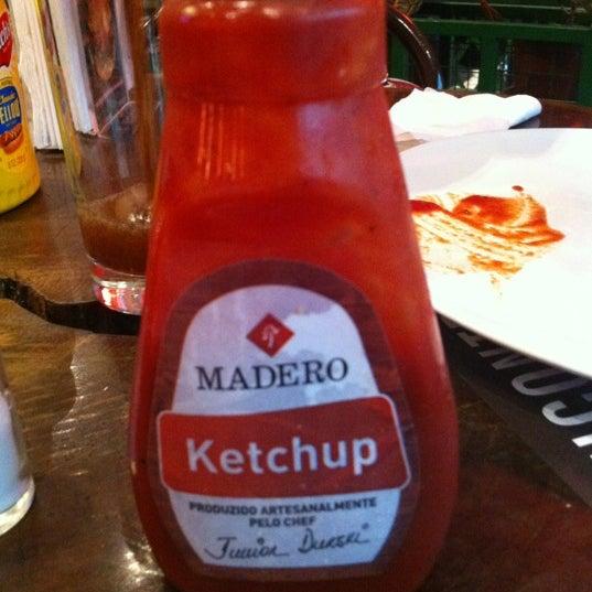 Nao esqueçam de pedir o ketchup da casa!