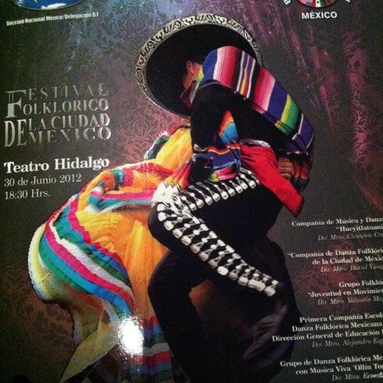 Foto tomada en Teatro Hidalgo por Yazmin P. el 6/30/2012