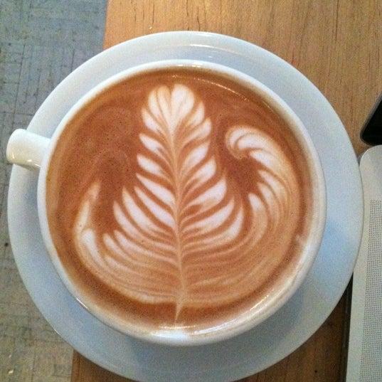 Photo taken at Bodhi Coffee by Bryan M. on 2/29/2012