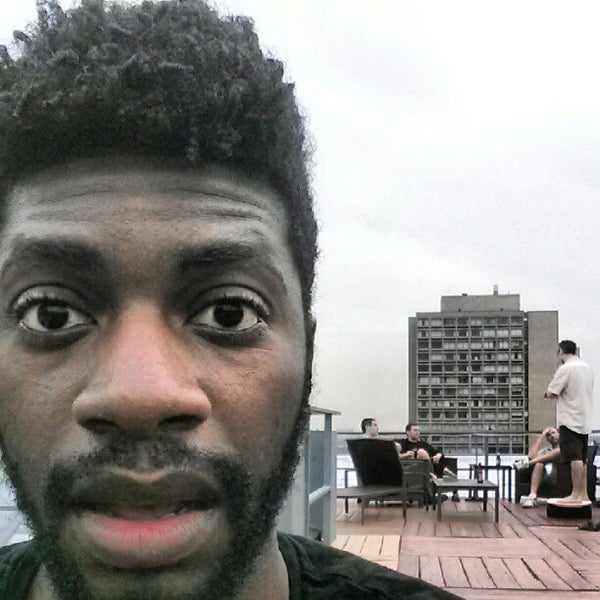 Photo taken at Meetup HQ Roof Deck by Norm R. on 7/19/2012