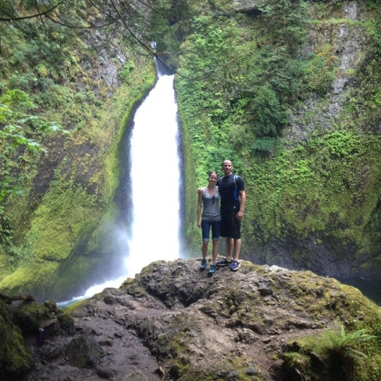 Photo taken at Wahclella Falls Trail by Coral on 7/6/2012