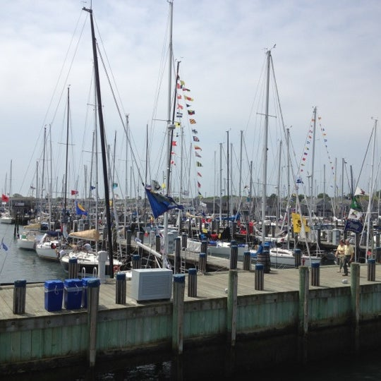 Photo taken at Nantucket Boat Basin by Alicia R. on 5/27/2012