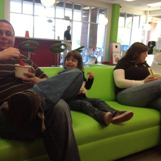 Photo taken at CherryBerry Yogurt Bar by Karen H. on 4/25/2012