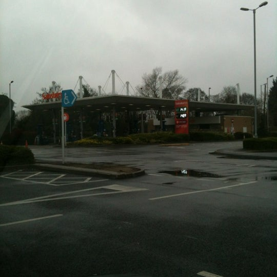 Photo taken at Sainsburys Petrol Station by Robert M. on 4/8/2012