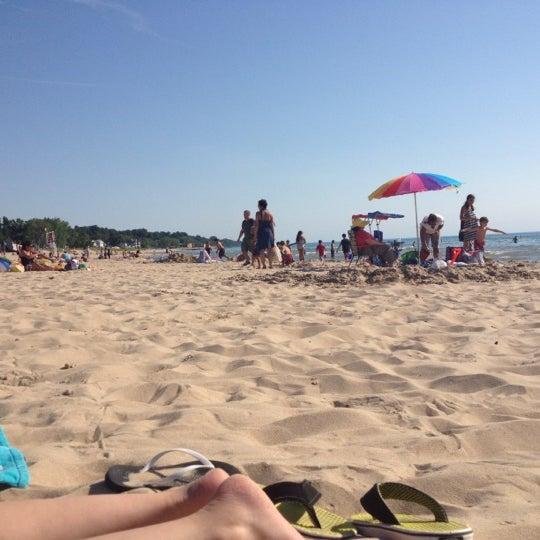 Photo taken at Silver Beach by Josh K. on 6/27/2012