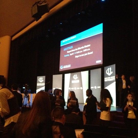 Photo taken at Lisner Auditorium by Jamii on 3/31/2012