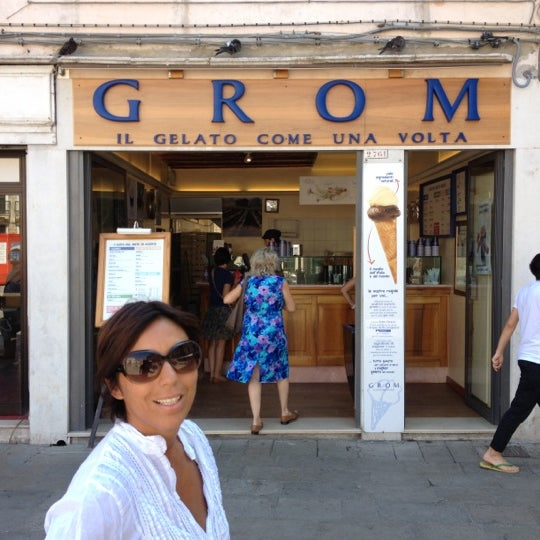 Photo taken at Grom by Giuseppe M. on 8/20/2012