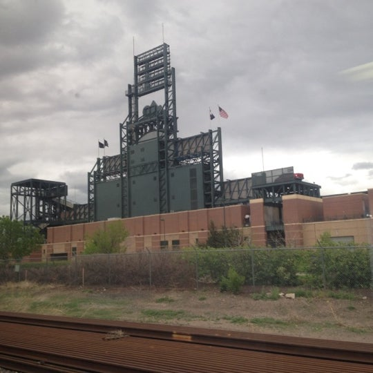 Photo taken at Denver Amtrak (DEN) by Tim H. on 4/20/2012