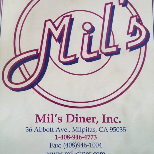 Photo taken at Mil's Diner by Stephany X. on 8/18/2012