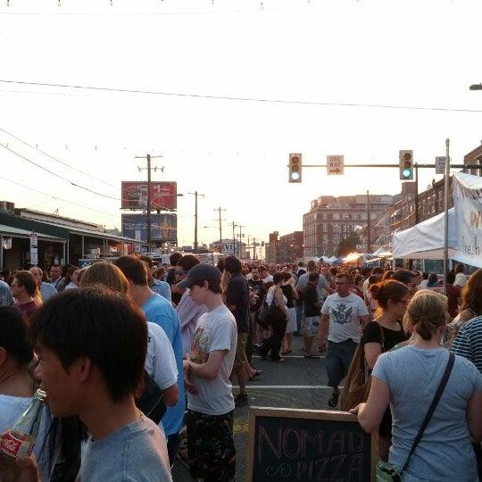 Photo taken at Night Market Washington Avenue by Erik S. on 6/28/2012