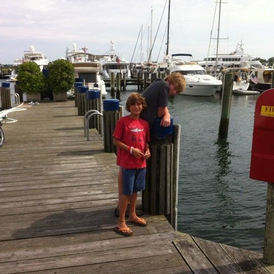 Photo taken at Nantucket Boat Basin by Erik S. on 8/1/2012