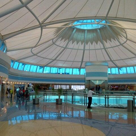 Photo taken at Mushrif Mall by Aisha A. on 7/16/2012