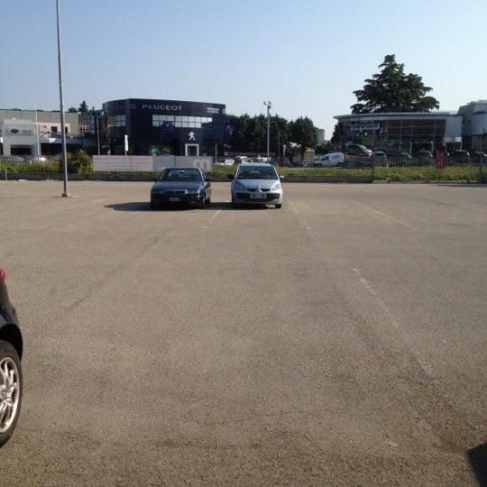Photo taken at Parcheggio Via Sassonia by Namer M. on 5/10/2012