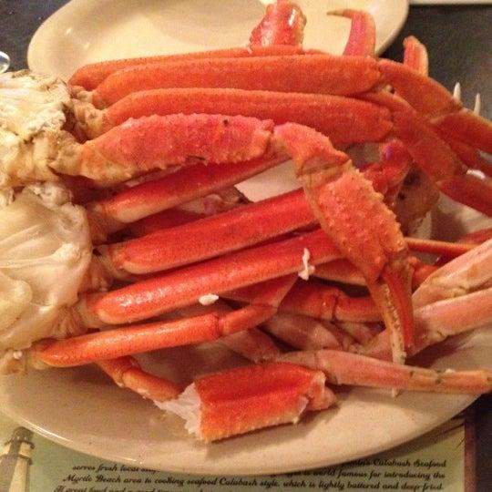 Photo taken at The Original Benjamin's Calabash Seafood by Rachel D. on 6/26/2012