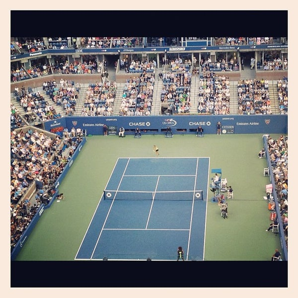 Photo taken at US Open Tennis Championships by Brian W. on 9/9/2012