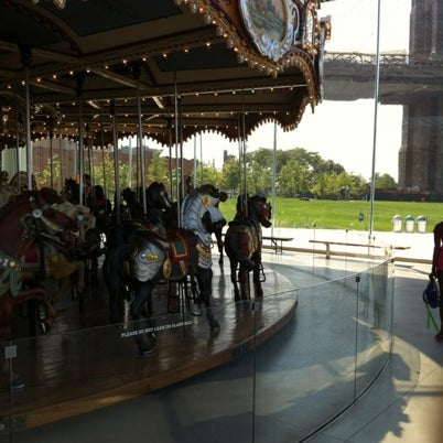Photo taken at Jane's Carousel by Thomas P. on 8/4/2012