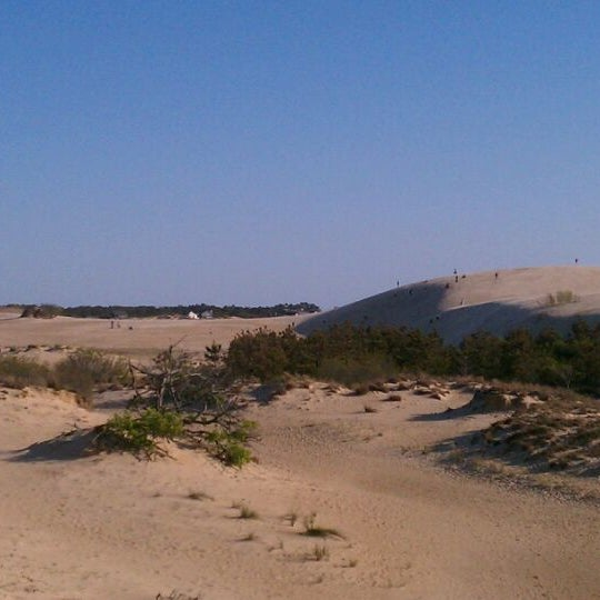Photo taken at Jockey's Ridge State Park by Celimar V. on 4/9/2012