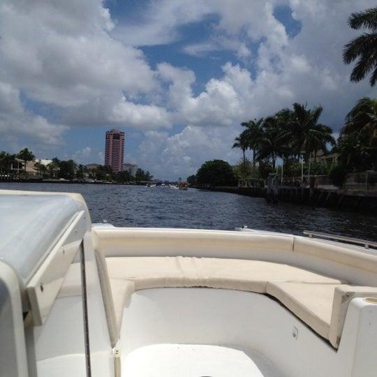 Photo taken at Lake Boca Raton by Chari M. on 7/14/2012