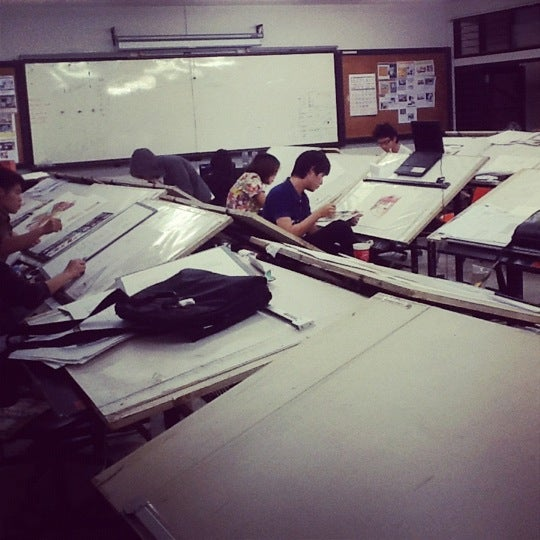 Photo taken at Faculty of architecture rmutl by Patipong T. on 2/21/2012