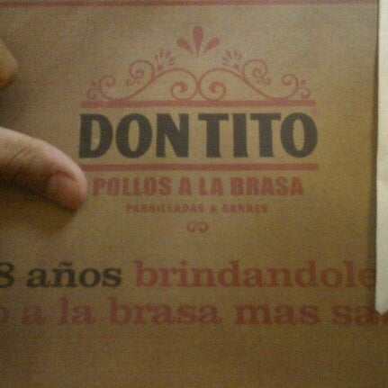Photo taken at Don Tito by Giancarlo L. on 5/7/2012