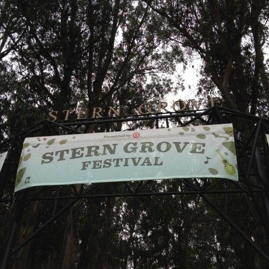 Photo taken at Sigmund Stern Grove by Nikki S. on 7/29/2012