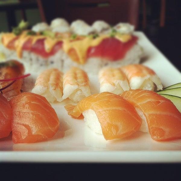 Photo taken at Hana by Sushi Hana by Portland Bars on 5/9/2012