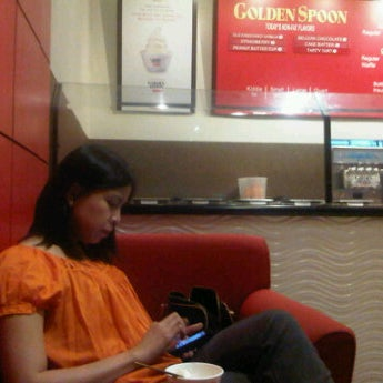 Photo taken at Golden Spoon by S G. on 6/19/2012