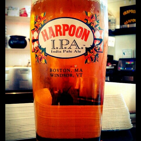 Photo taken at Harpoon Tap Room by April L. on 9/12/2012