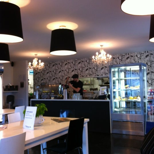 Photo taken at Tuihana Cafe. Foodstore. by Tewai H. on 6/28/2012